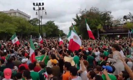 Euforia por fútbol no cambia marcha del país.- Concanaco