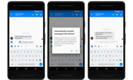 Facebook Messenger ahora realiza traducciones de español e inglés de manera automática