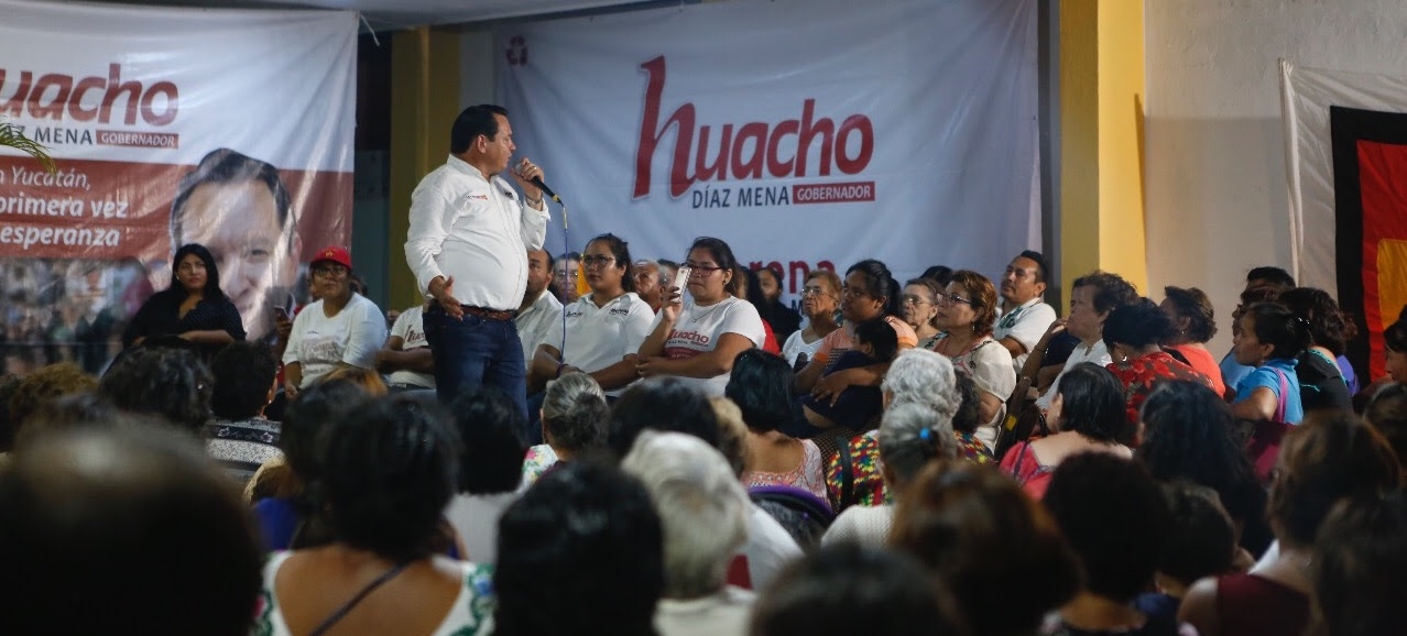 "Liderazgos de colonias de Mérida se suman a ""Huacho"""