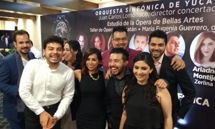 Más de 40 personajes en ópera de Don Giovanni