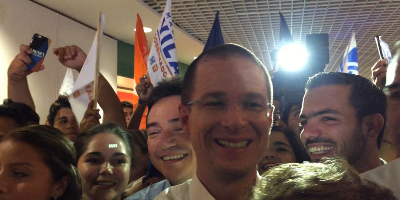 Adelantado al debate: Ricardo Anaya, está en Mérida