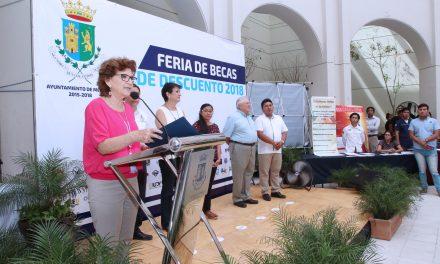 Feriade Becas de Descuentos en Mérida, alcanza a cuatro mil alumnos