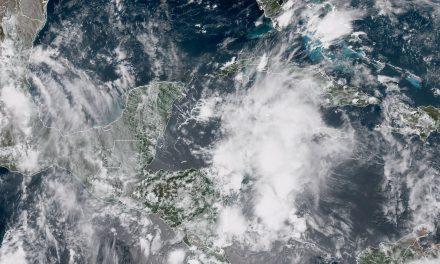 Lluvias no paran en la Península de Yucatán