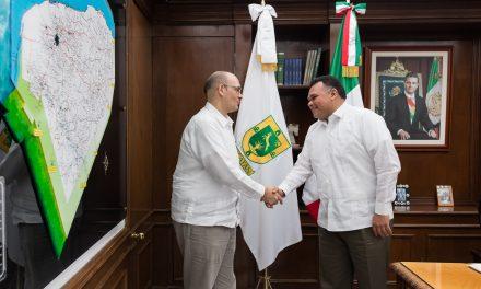 David Micó se despide de Yucatán como cónsul de EU