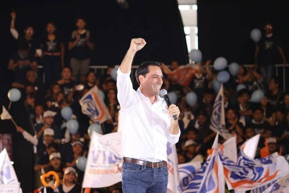 Cierra campaña Vila, con llamado a vigilar que nadie 'robe triunfo'