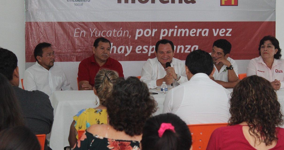 Lucharé por la igualdad laboral en subsistemas de educación media superior: Huacho Díaz Mena