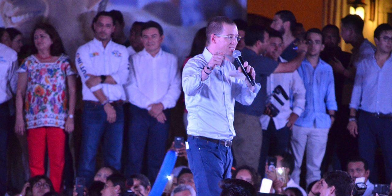 """José Antonio Meade, """"cínico corrupto"""", revira Anaya"""