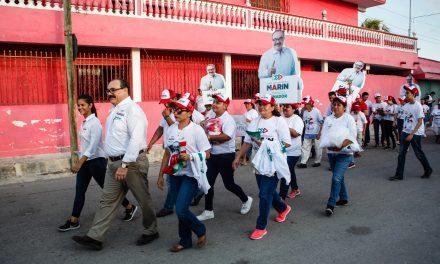 Más vecinos de Mérida le abren sus puertas a Ramírez Marín