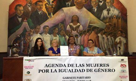'No más exclusión a mujeres'; piden gabinete paritario en Yucatán