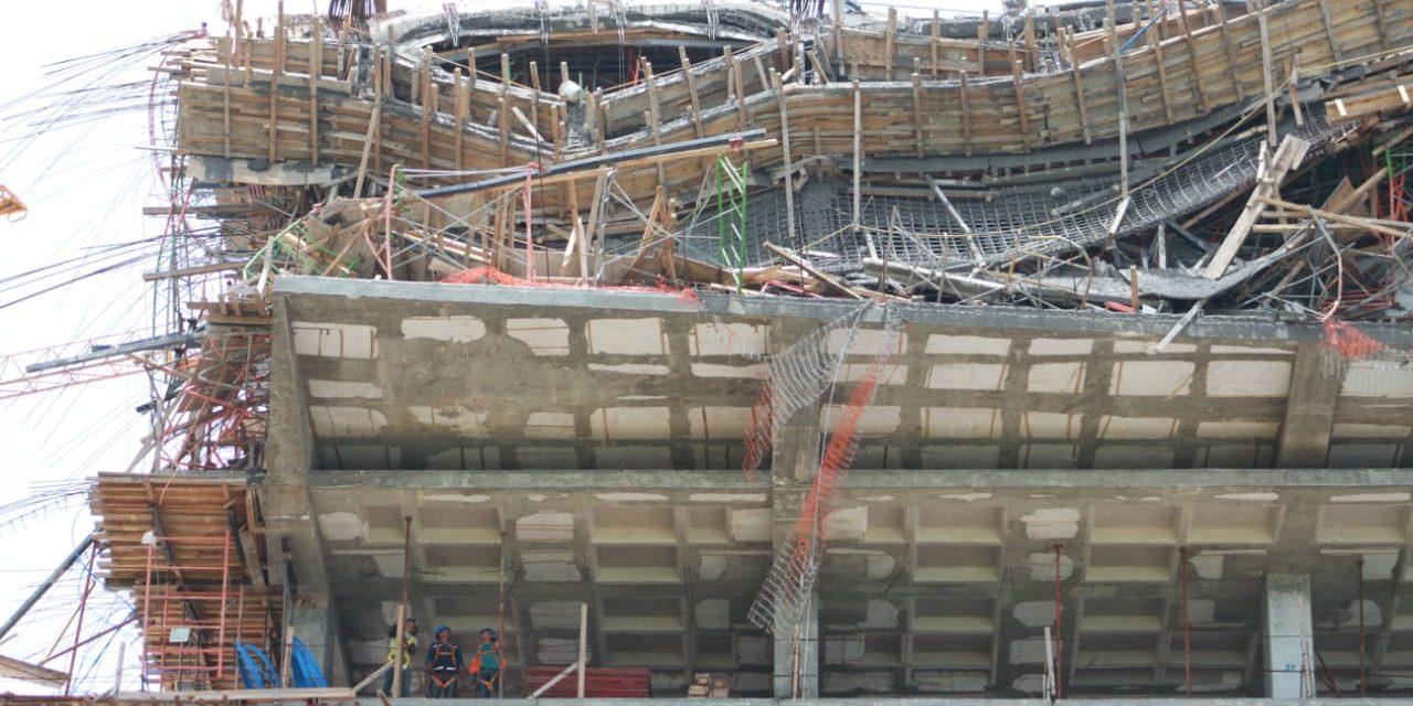Colapsa obra de hotel en construcción cerca de Cancún