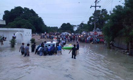 Lluvias históricas en Quintana Roo afectaron 10 mil personas