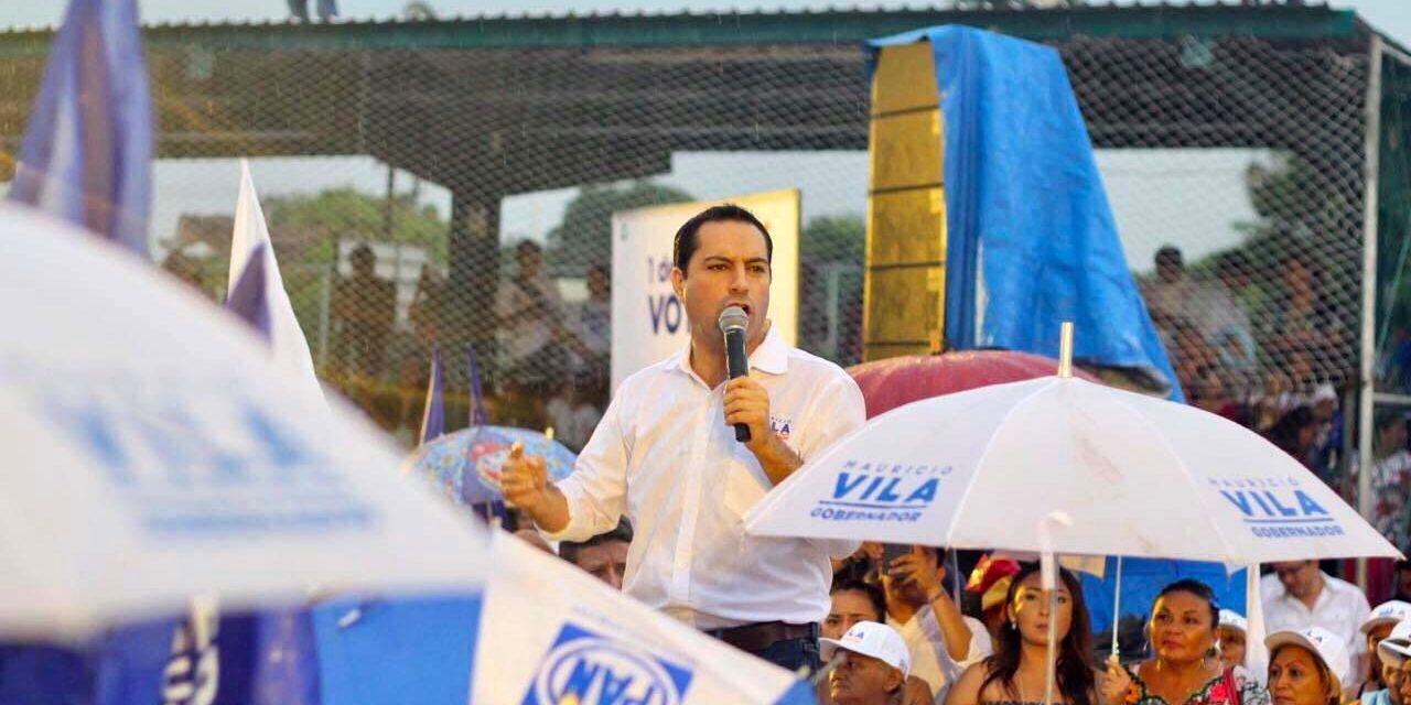 Ganará el Yucatán que no se conforma.- Vila Dosal