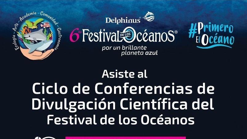 Expertos en vida marina inspirarán a jóvenes con ciclo de conferencias del 6to. Festival de los Océanos