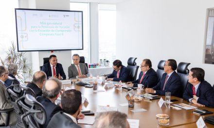 Comprometen inversión para mejorar abasto de gas natural en Yucatán