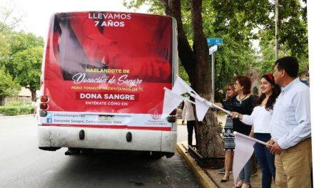 Celebran salvar vidas con donación de sangre y presentan campaña