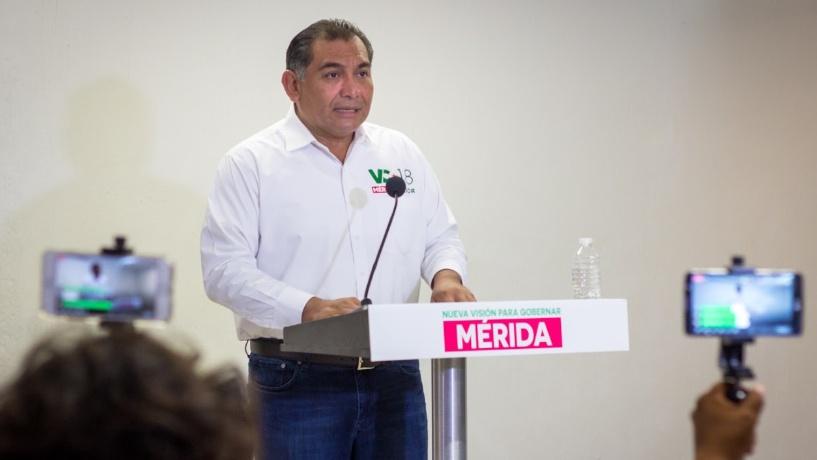 Fin a corrupción y solución al endeudamiento de la Comuna de Mérida, plantea Caballero Durán