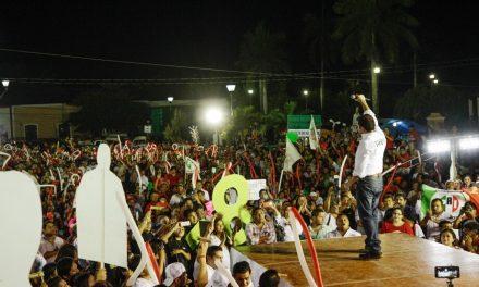 Hemos construido la victoria: Sahuí