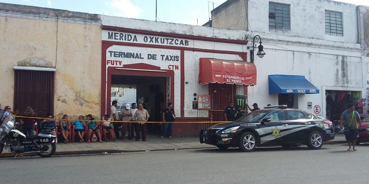 En su último viaje, muere en terminal de taxis