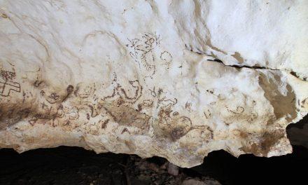 Aparece más arte rupestre en gruta del sur yucateco