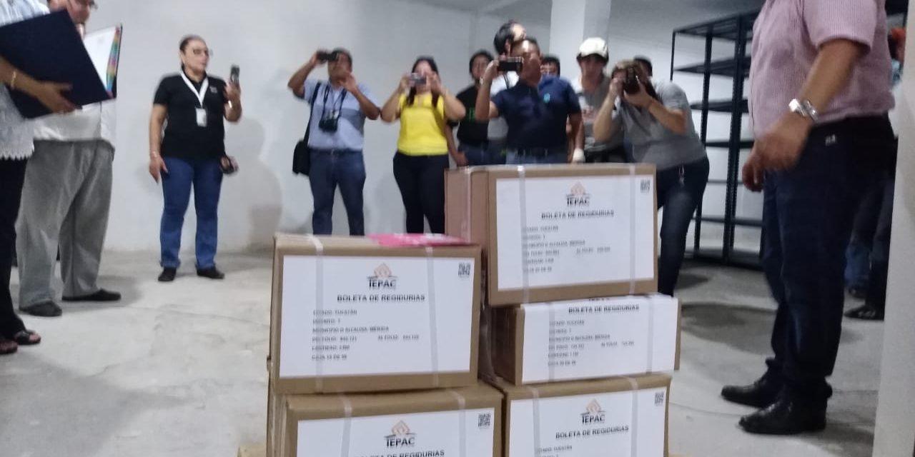 Llegaron boletas para elegir gobernador, diputados locales y alcaldes
