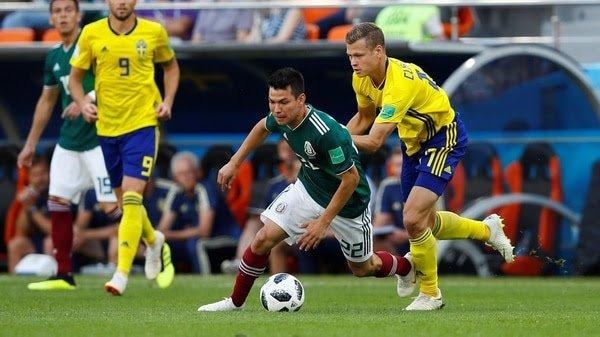 México pierde ante Suecia pero aún conserva su pasaje a octavos de final del Mundial