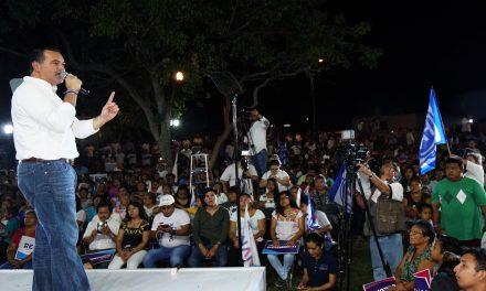 """Vamos a fortalecer Mérida"" Renán Barrera"
