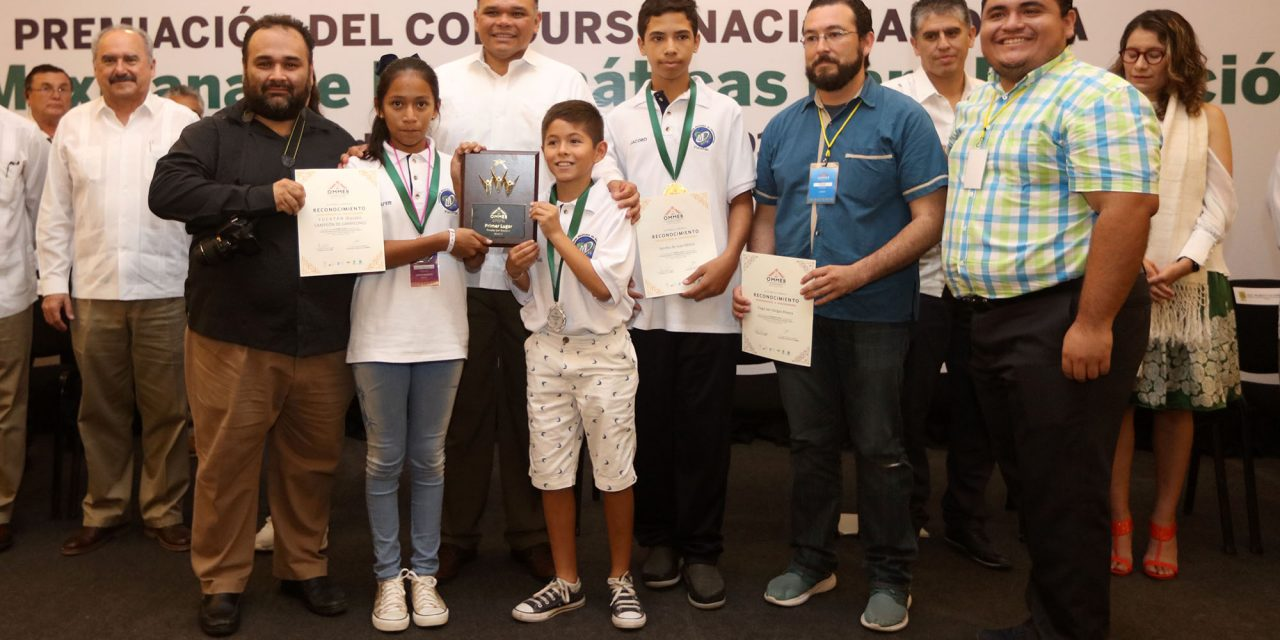 Estudiantado yucateco destaca en matemáticas
