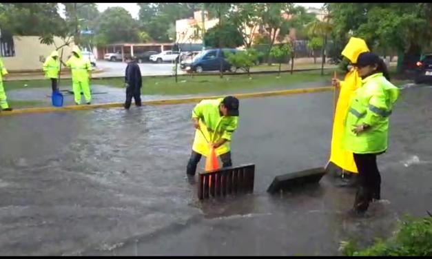 Inundaciones de hasta tres metros en puntos de Quintana Roo