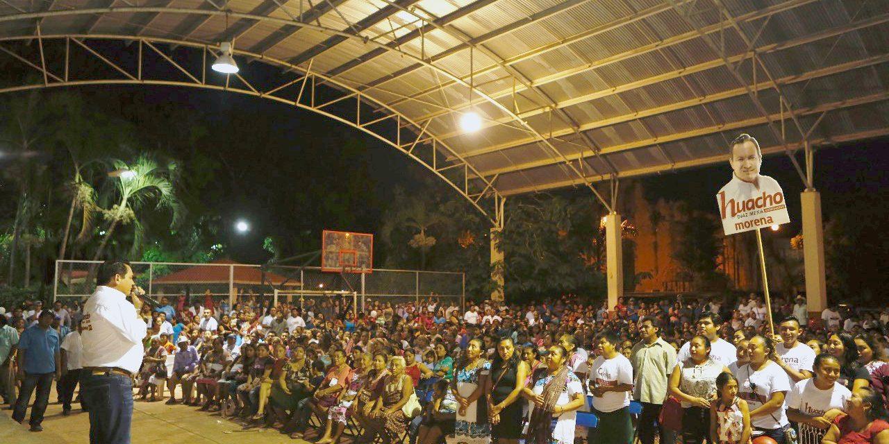 Visita Huacho Hunukú, Temozón y Santa María, Uayma
