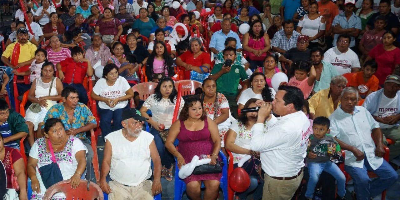 Negar voto a corruptos y saqueadores del erario.- 'Huacho' Díaz Mena