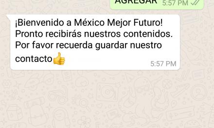 Empresarios de México te dirán, vía WhatsApp, por 'quién' votar (video)