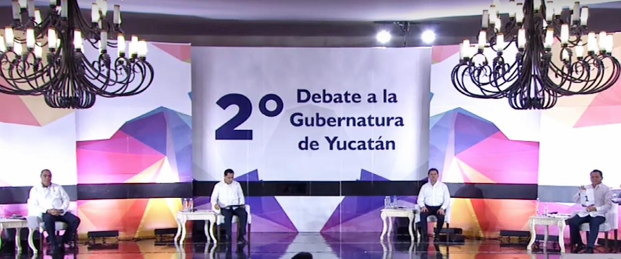 El ganador del debate en Yucatán es… ¡ninguno se declaró triunfador! (videos)