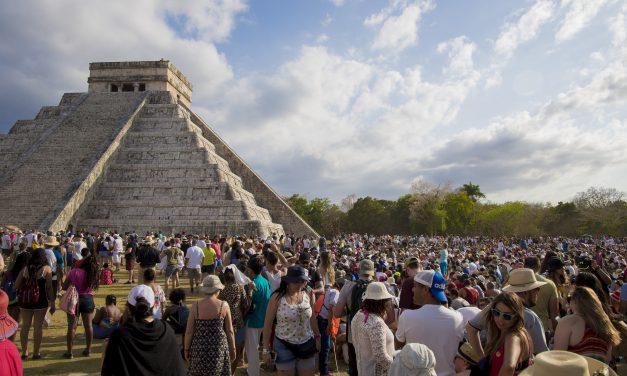 Termina la primavera e inicia el verano: mira lo que ocurre en Chichén Itzá (video)