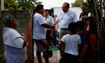 Ramírez Marín gestionará apoyos para el sur de Mérida