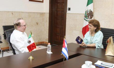 Ayuntamiento de Mérida mantiene sólidos lazos con Cuba