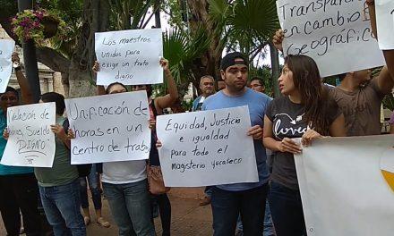 Solución parcial a demandas de Frente Magisterial de Yucatán