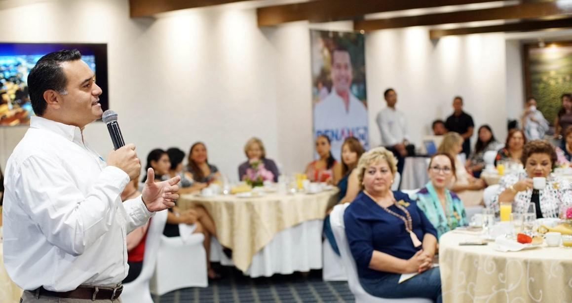 """""""Junto con los ciudadanos, volveremos a ganarle al PRI"""": Renán Barrera"""