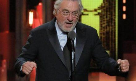 Robert De Niro insulta a Donald Trump en los premios Tony