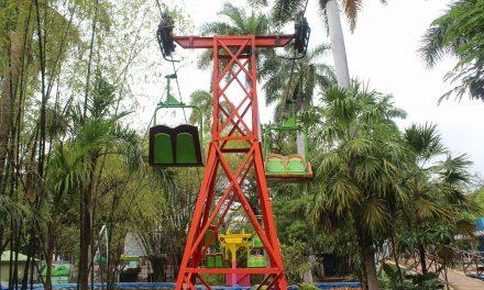 Muere aplastado por teleférico en zoológico Centenario de Mérida