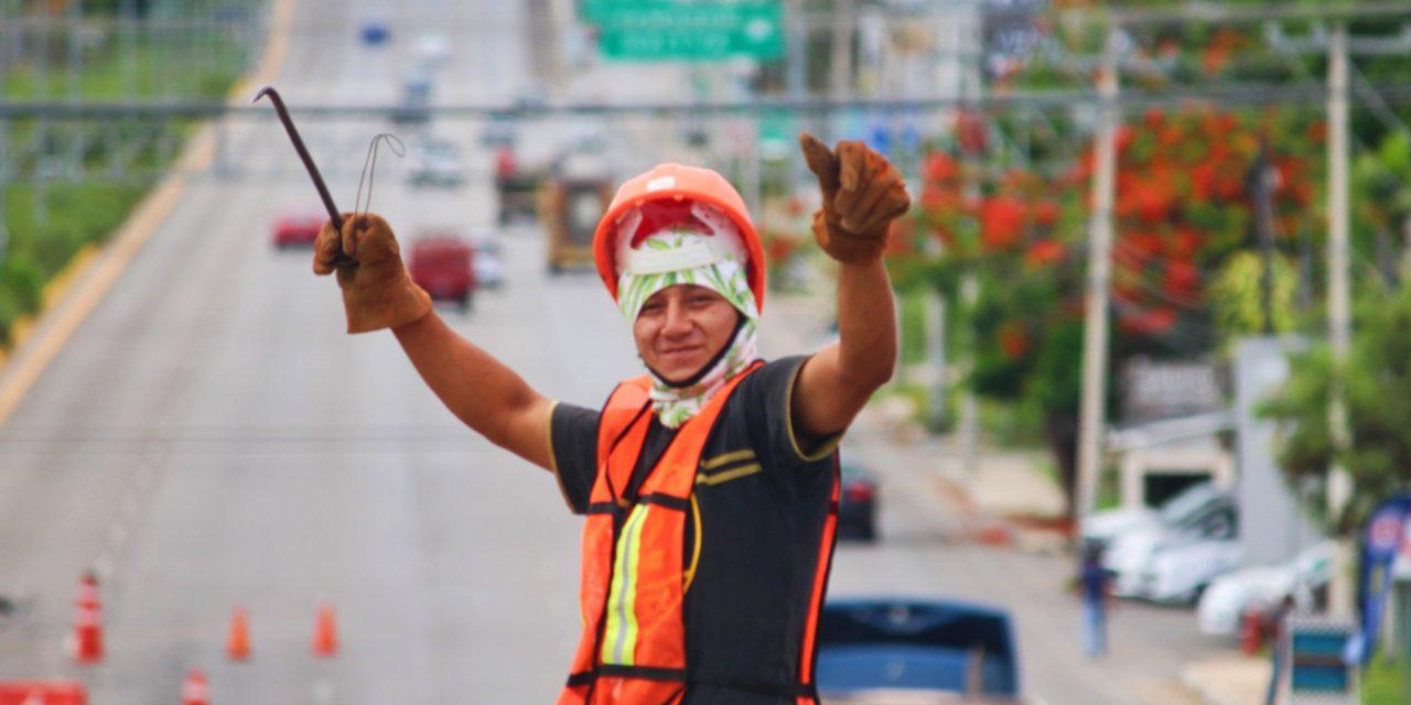 ¿Fin al caos vial? Reabren circulación en periférico con salida Mérida-Progreso (video)