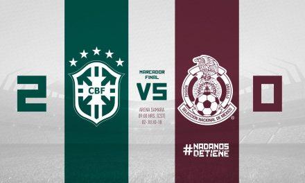 Con un gol de Neymar, Brasil eliminó a México y se clasificó a cuartos de final del Mundial