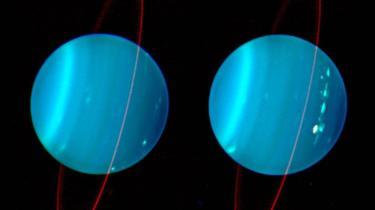 """La """"colisión catastrófica"""" que dejó al planeta Urano torcido y helado"""