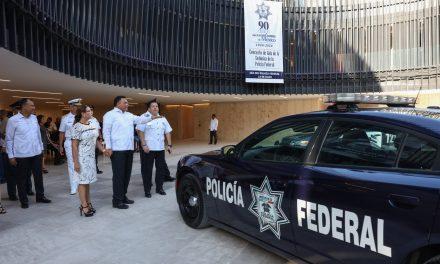Con tema de seguridad, Yucatán conmemora 90 Aniversario de Policía Federal