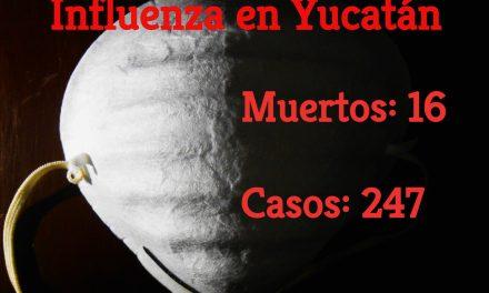 Suman 20 los muertos por influenza en Península de Yucatán (video)