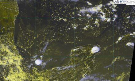 Onda tropical, este jueves, traerá más lluvias en Península de Yucatán
