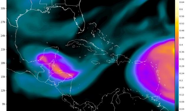 Calor de 50 grados y 2 'nubes' del polvo del Sahara invaden Yucatán