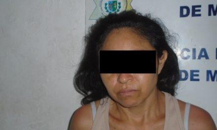 Mujer peligrosa: cargaba pistola y 49 balas