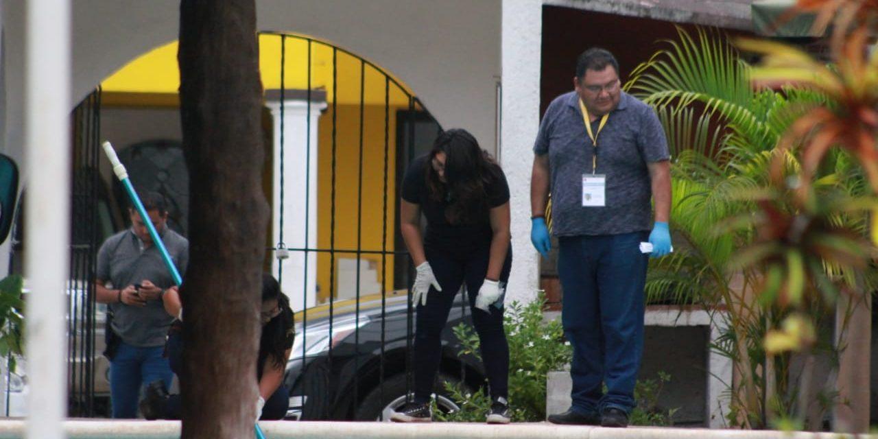 Lo ejecutan en Cancún, cerca de fiesta infantil
