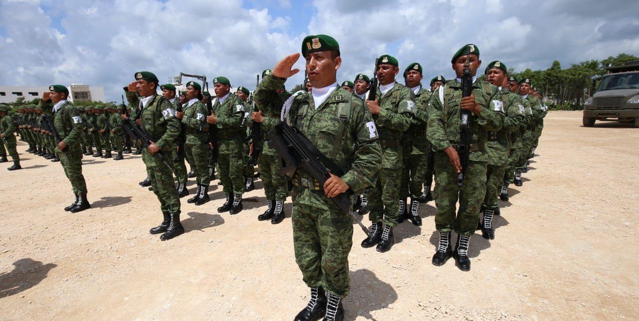 Comando Sur de Policía Militar operará desde Quintana Roo