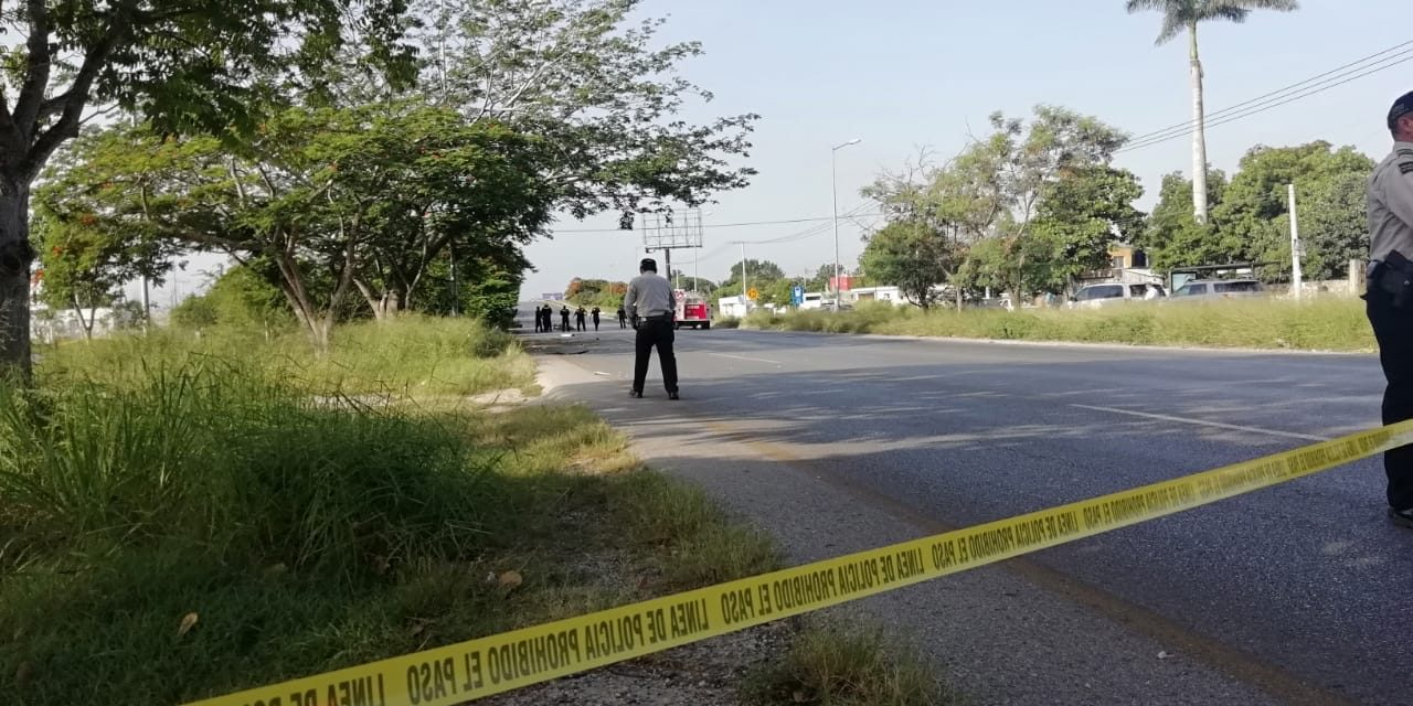 Atropella a ciclista, pero mueren ambos en puente de la 59